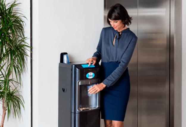 dzeramā ūdens strūklakas uzņēmumiem